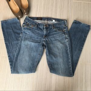 "J. Crew ""Matchstick"" Jeans"